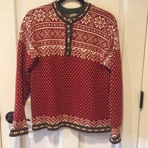 Vintage LLBean Nordic sweater